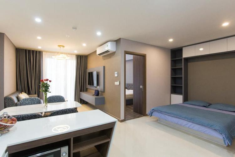 Bán căn hộ Hado Centrosa Garden 1 phòng ngủ, diện tích 56m2, đầy đủ nội thất