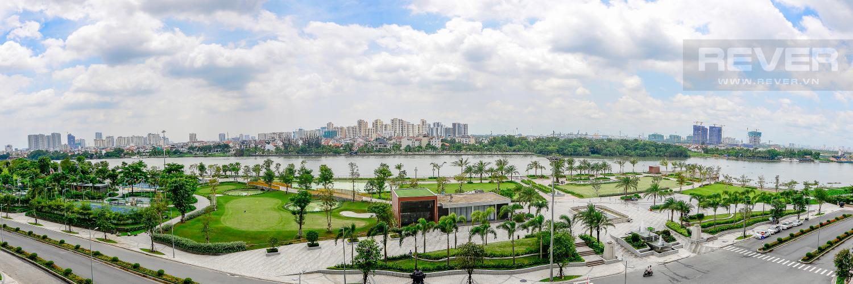 view Căn góc Vinhomes Central Park tầng thấp Park 1 view toàn cảnh sông Sài Gòn