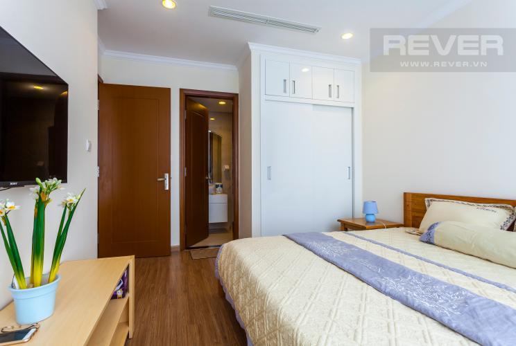 Phòng ngủ 1 Căn hộ Vinhomes Central Park tầng cao Landmark 1 view đẹp