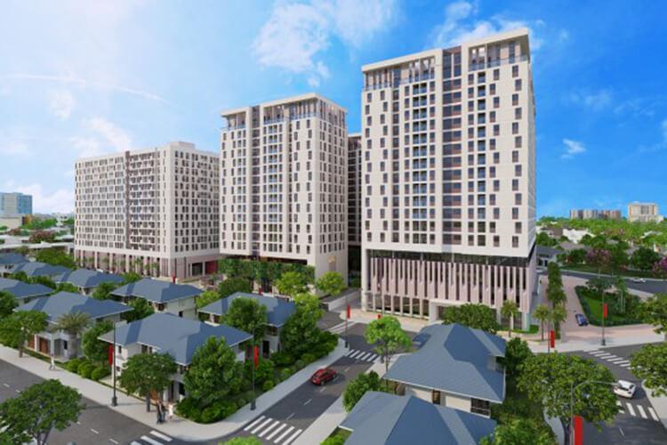 Sky 9, Quận 9 Căn hộ Sky 9 tầng cao, hướng Đông Nam, nội thất cơ bản.