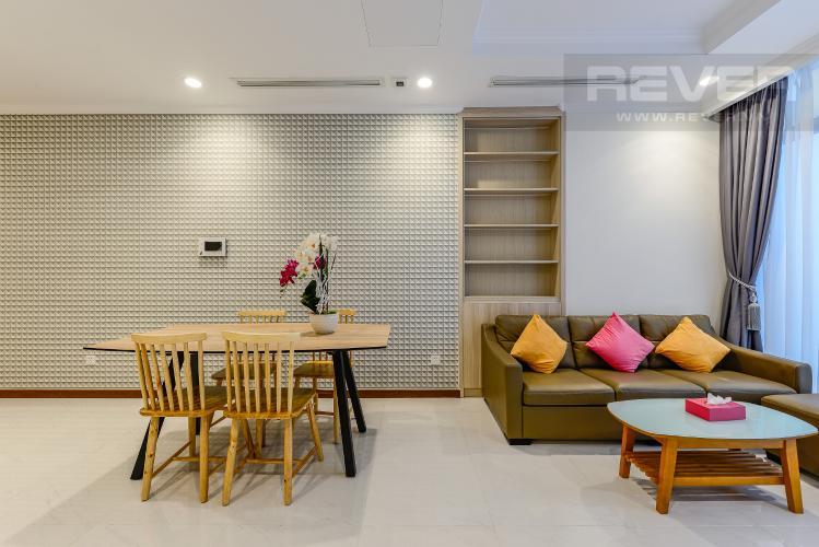 Phòng khách Căn hộ Vinhomes Central Park 2 phòng ngủ tầng thấp L5 đầy đủ tiện nghi