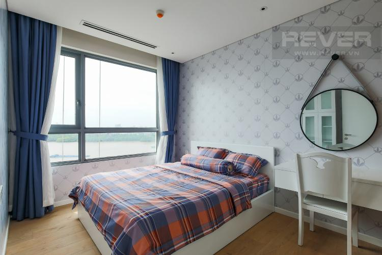 Phòng Ngủ Căn hộ Diamond Island - Đảo Kim Cương tầng trung, tháp Maldives, 1PN view sông