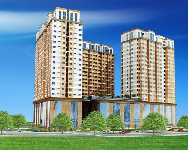 dự án  CBD Premium Home  Căn hộ The CBD Premium Home tầng trung, view thành phố.