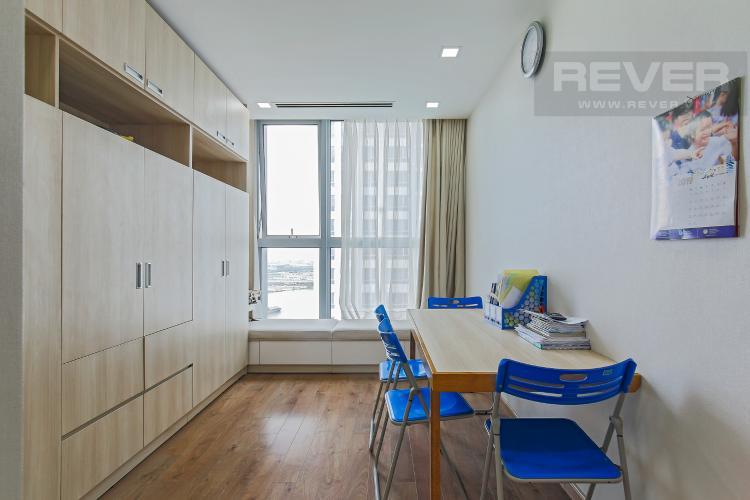 Phòng Làm Việc Bán căn hộ Vinhomes Central Park tầng trung tháp Park 1, 4PN 3WC, đầy đủ nội thất, view sông Sài Gòn