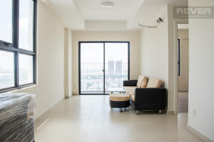 Phòng Khách Bán căn hộ M-One Nam Sài Gòn 2PN, tầng cao, nội thất cơ bản, view sông và Landmark 81