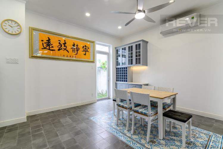 Phòng Ăn Bán hoặc cho thuê biệt thự H8 Villa Park Quận 9, 3PN và 3WC, đầy đủ nội thất