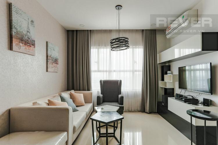 Phòng Khách Căn hộ Sunrise City tầng trung, tháp W3, 2 phòng ngủ, full nội thất