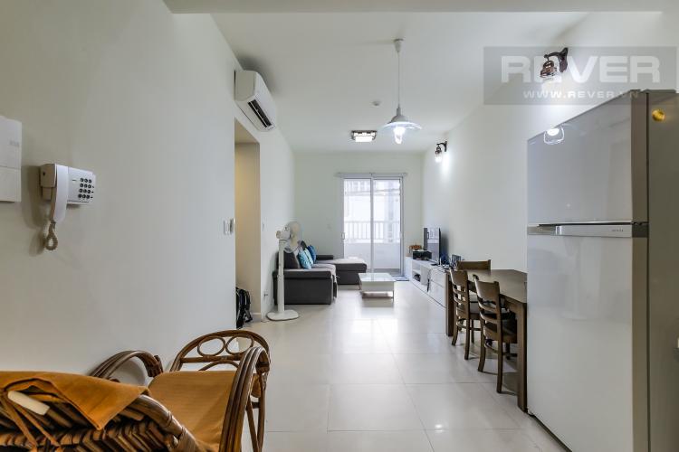 Phòng Khách Cho thuê căn hộ Lexington Residence 2PN, tầng cao, tháp LC, đầy đủ nội thất