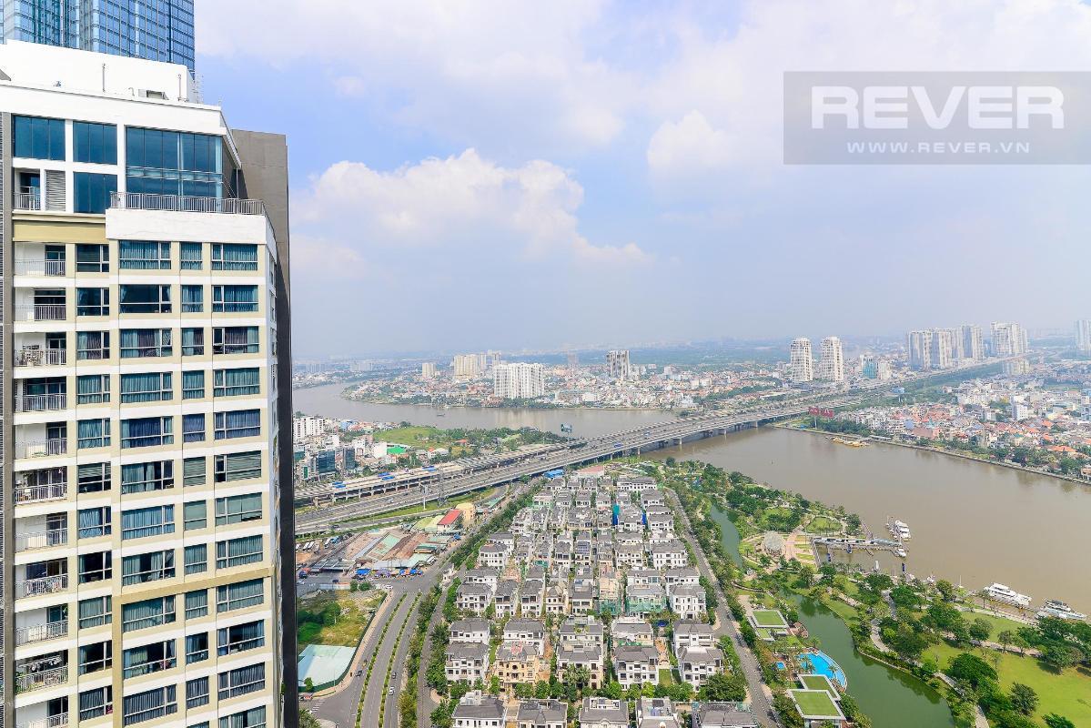 can-ho-vinhomes-central-park Cho thuê căn hộ Vinhomes Central Park 2PN, tháp Park 5, đầy đủ nội thất, view sông thoáng mát