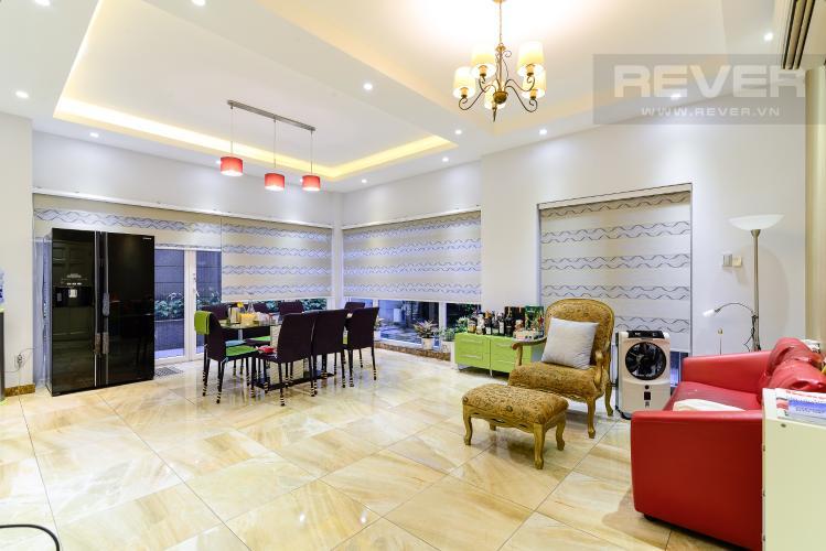 Phòng Ăn Cho thuê biệt thự Khu dân cư An Phú, hướng Đông Nam, thiết kế sang trọng, đầy đủ nội thất