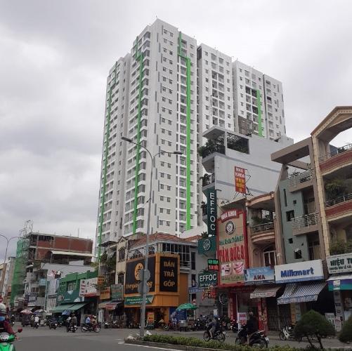 Chung cư Green Field 686, Bình Thạnh Căn hộ chung cư Green Field 686 nội thất đầy đủ, view thành phố.