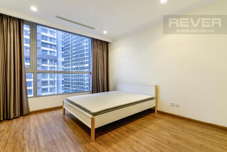 Phòng Ngủ 3 Căn hộ Vinhomes Central Park 4PN đầy đủ nội thất, view sông Sài Gòn