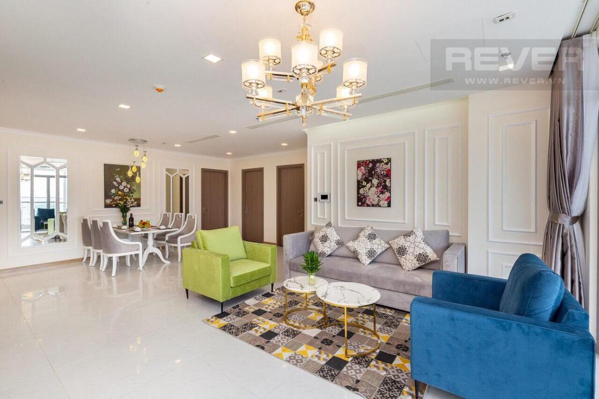 dd29d4772a74cc2a9565 Bán hoặc cho thuê căn hộ Vinhomes Central Park 4PN, tháp Park 3, đầy đủ nội thất, hướng Đông, view sông Sài Gòn và công viên trung tâm
