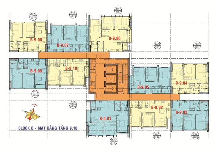 mat-bang-xi-grand-court-quan-10-block-b.jpg Bán căn hộ Xi Grant Court Quận 10 tầng trung 2PN