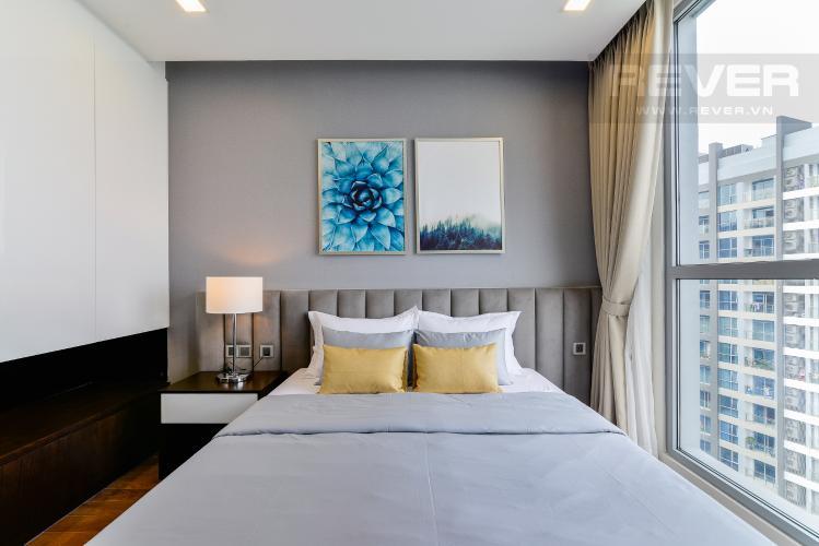 Phòng Ngủ 2 Căn góc Vinhomes Central Park 4 phòng ngủ tầng cao P2 full nội thất