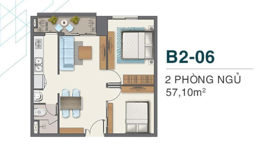 căn hộ Q7 Boulevard Căn hộ Q7 Boulevard nội thất cơ bản, ban công thoáng mát đón gió.