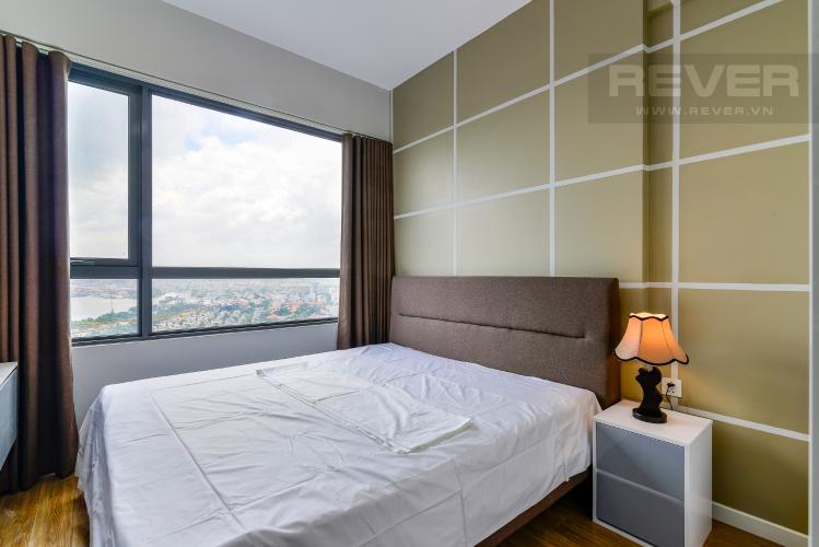 Phòng Ngủ 2 Cho thuê căn hộ Masteri An Phú, tầng trung, đầy đủ nội thất, view sông thoáng mát