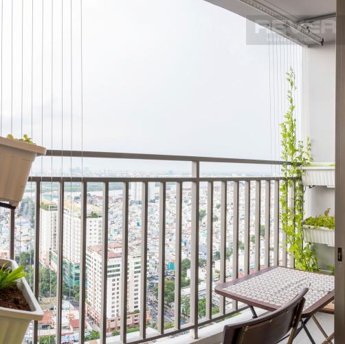 Ban Công Bán căn hộ RiverGate Residence 2PN, tầng cao, đầy đủ nội thất, view sông Sài Gòn