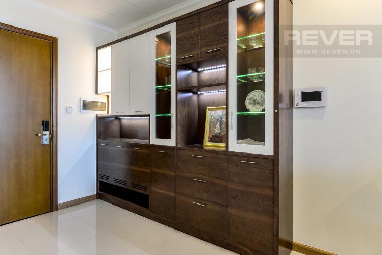 Trang Trí Căn hộ Vinhomes Central Park 2 phòng ngủ tầng cao L6 nội thất đầy đủ