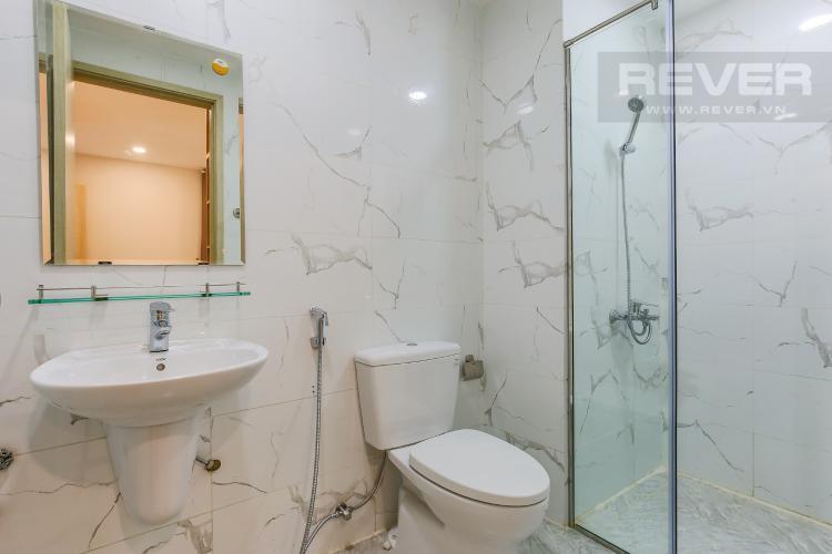 Phòng Tắm 1 Căn hộ The Gold View 2 phòng ngủ tầng cao tháp B nội thất đầy đủ