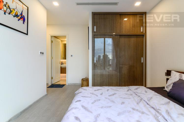 Phòng Ngủ 1 Cho thuê căn hộ Vinhomes Golden River 2PN đầy đủ nội thất, view sông Sài Gòn