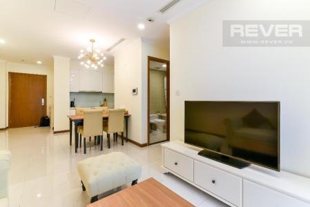 Cho thuê căn hộ Vinhomes Central Park 2PN, tháp Landmark Plus, diện tích 57m2, đầy đủ nội thất