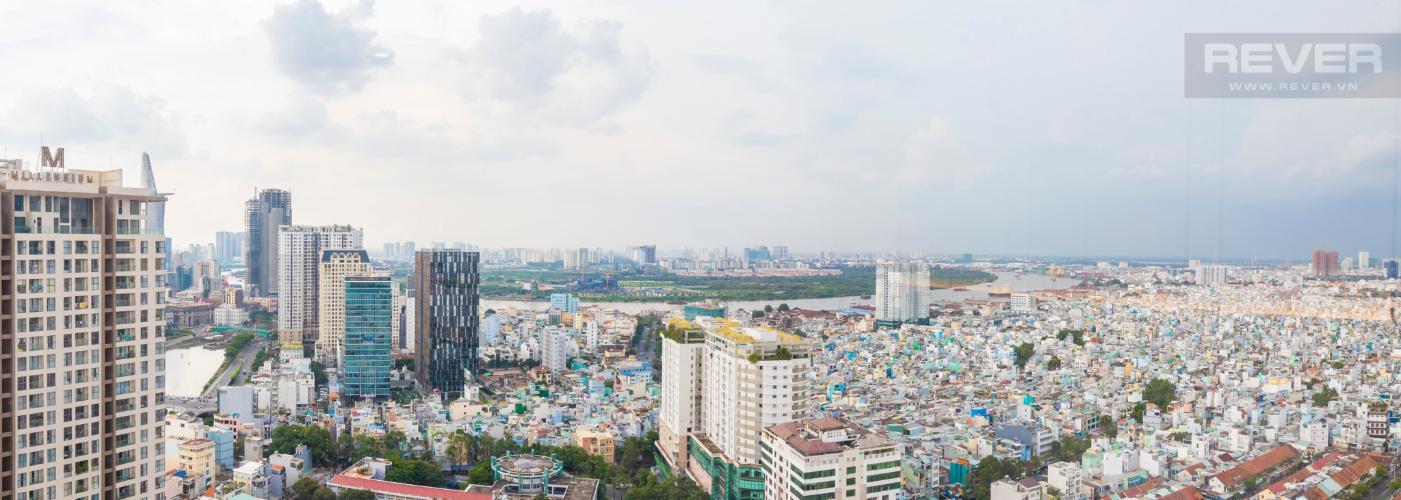 View Bán căn hộ RiverGate Residence 2PN, tầng cao, đầy đủ nội thất, view sông Sài Gòn