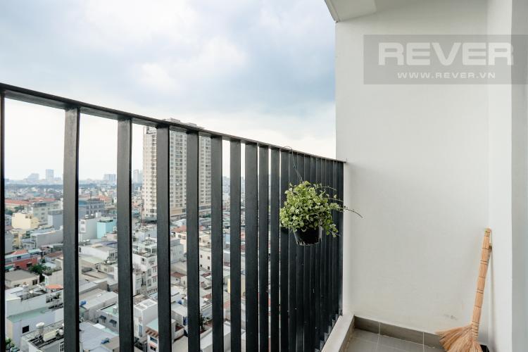 Ban Công Bán căn hộ M-One Nam Sài Gòn tầng trung, 2PN đầy đủ nội thất