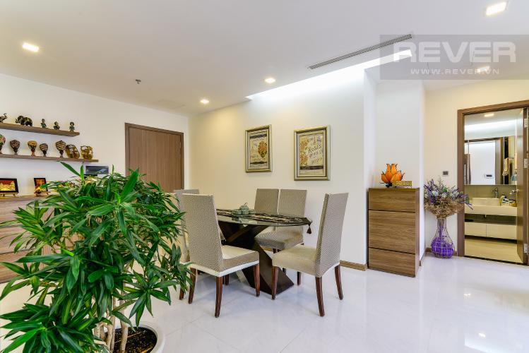 Phòng Ăn Căn hộ Vinhomes Central Park 2 phòng ngủ tầng cao P4 view sông