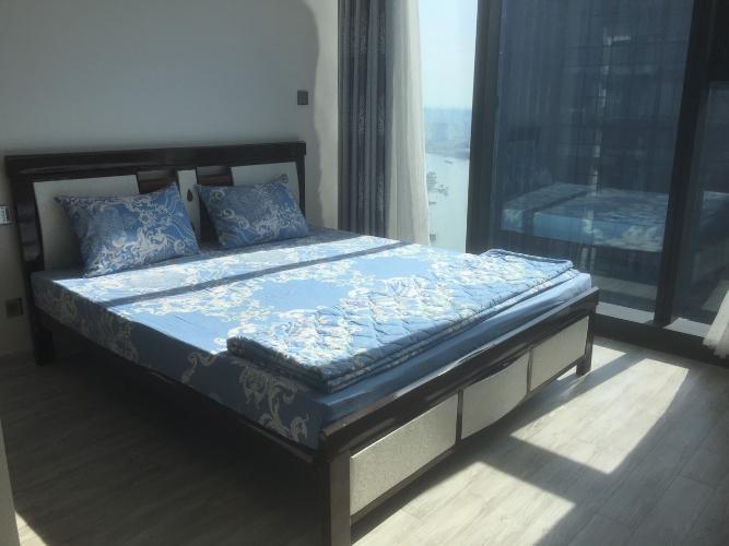 Phòng ngủ căn hộ Vinhomes Golden River Cho thuê căn hộ Vinhomes Golden River 2PN, diện tích 70m2, đầy đủ nội thất, view sông Sài Gòn