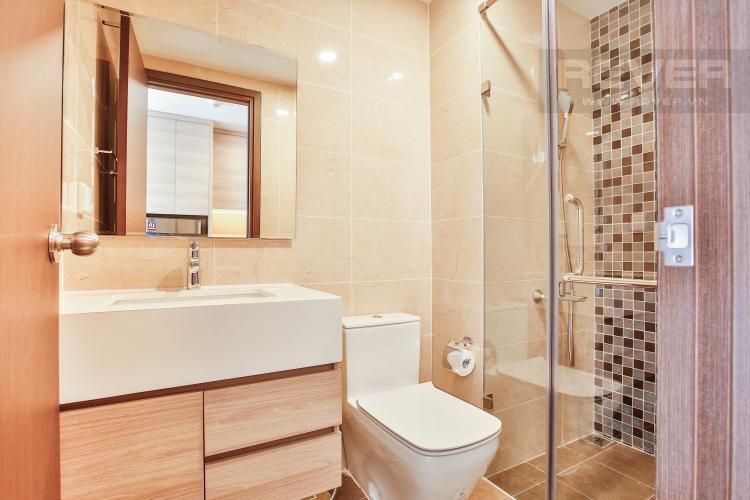 Toilet Officetel The Tresor 1 phòng ngủ tầng thấp TS1 view nội khu