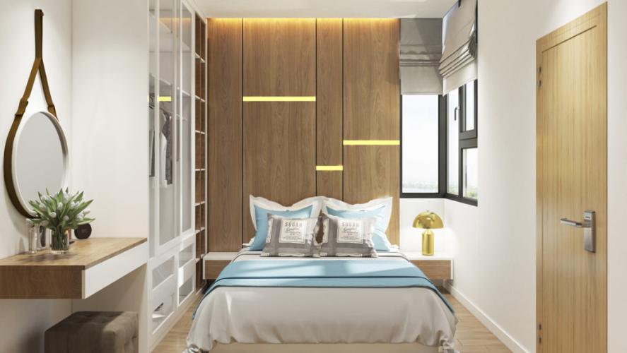 Phòng ngủ căn hộ Picity Bán căn hộ Picity High Park tầng trung, 2 phòng ngủ, diện tích 57.6m2, nội thất cơ bản
