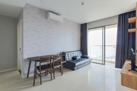 Căn hộ Masteri Millennium tầng cao, 2PN, đầy đủ nội thất