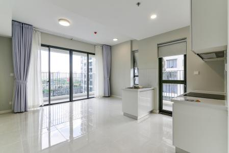 Cho thuê căn hộ Masteri An Phú 2PN, tháp B, nội thất cơ bản, view hồ bơi