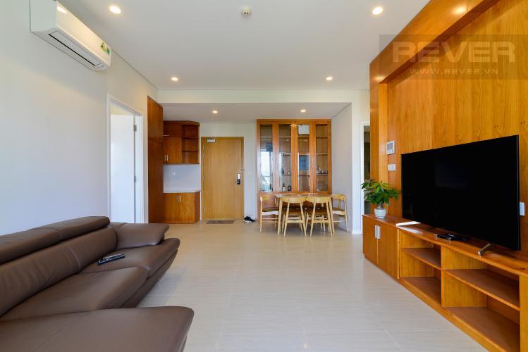 Phòng Khách Bán căn hộ Diamond Island - Đảo Kim Cương 2PN, tháp Canary, đầy đủ nội thất, view sông thoáng mát