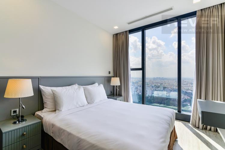 Phòng Ngủ 2 Căn hộ Vinhomes Golden River tầng cao, tháp A1, gồm 3 phòng ngủ, 2 phòng tắm, full nội thất
