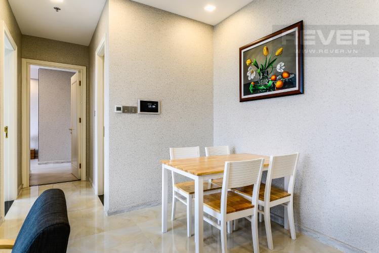 Phòng Ăn Căn hộ Vinhomes Golden River tầng thấp, tháp Aqua 1, 2 phòng ngủ, view sông