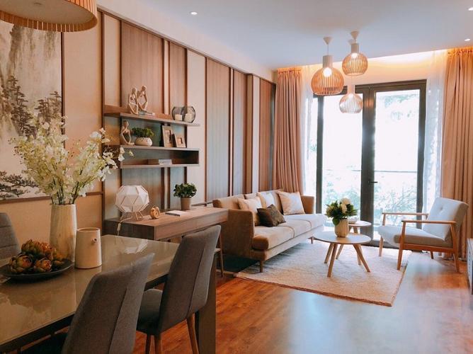 Phòng khách căn hộ Akari City, Bình Tân Căn hộ chung cư Akari City ban công hướng Nam, view đón gió mát.