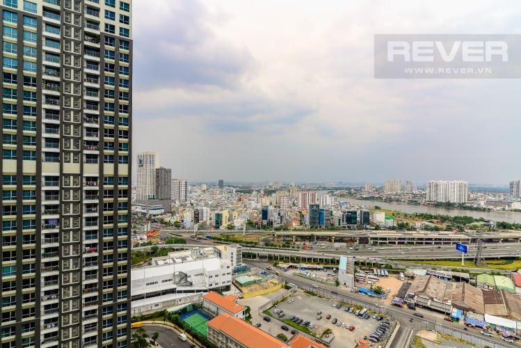 View Cho thuê căn hộ Vinhomes Central Park tầng cao, 2PN đầy đủ nội thất tiện nghi, sang trọng