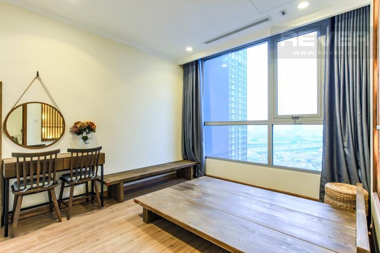 Phòng Ngủ 2 Căn hộ Vinhomes Central Park 3 phòng ngủ, tầng trung L3, nội thất đầy đủ