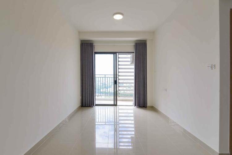 Phòng Khách Cho thuê căn hộ The Sun Avenue 1PN, tầng cao, nội thất cơ bản, view sông thoáng mát