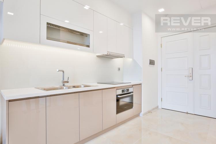 Bếp Officetel Vinhomes Golden River 1 phòng ngủ tầng cao A2 hướng Đông Bắc