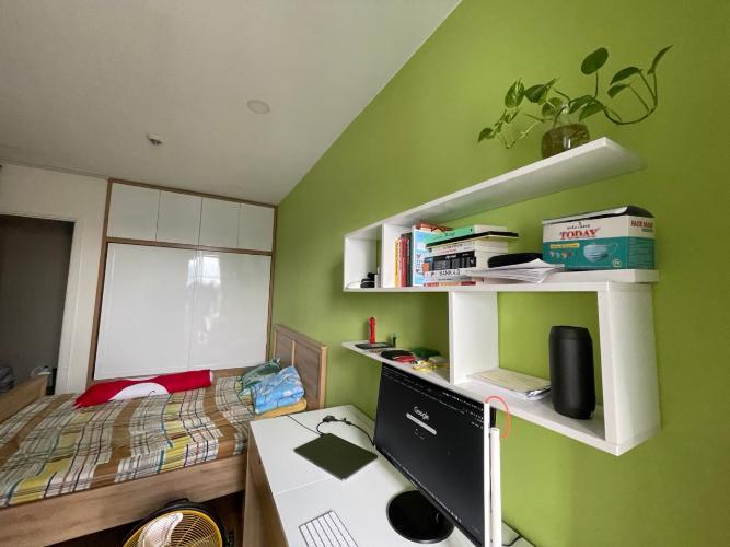 Phòng ngủ căn hộ M-One Nam Sài Gòn, Quận 7 Căn hộ M-One Nam Sài Gòn bàn giao đầy đủ nội thất, view thành phố.