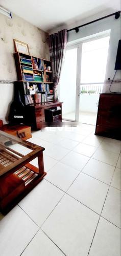 Phòng khách Quang Thái Tower, Tân Phú Căn hộ Quang Thái Tower tầng trung, đầy đủ nội thất, view thành phố.