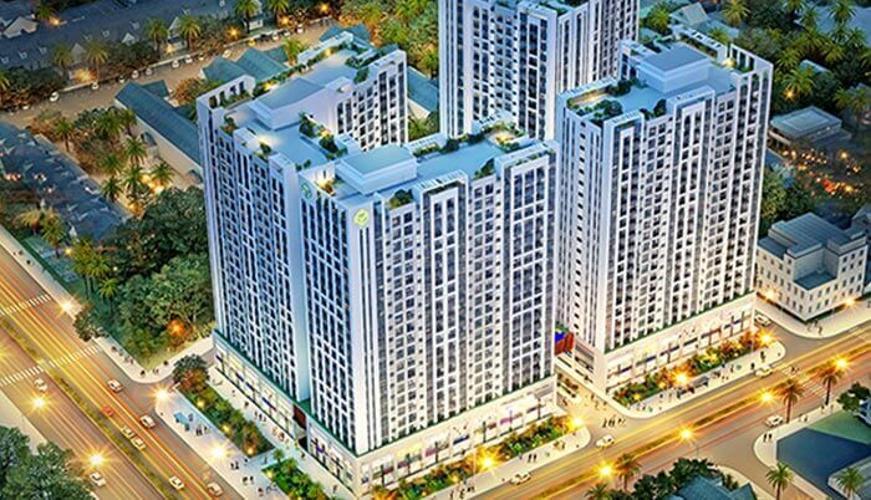Richstar, Tân Phú Căn hộ Richstar tầng trung, view thành phố, đầy đủ nội thất.