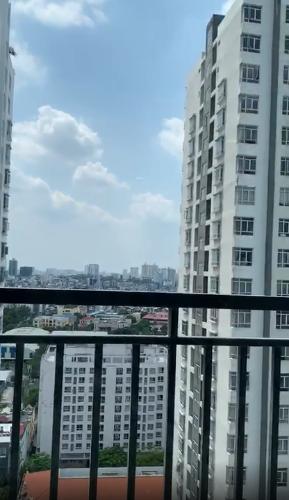View căn hộ Central Premium, Quận 8 Căn hộ Central Premium tầng 17 nội thất cơ bản, view nội khu mát mẻ.