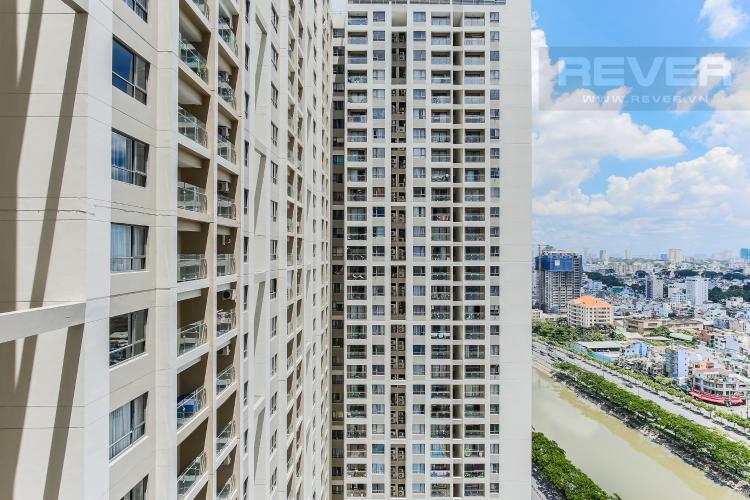 View Căn hộ The Gold View 1 phòng ngủ tầng cao A3 đầy đủ nội thất