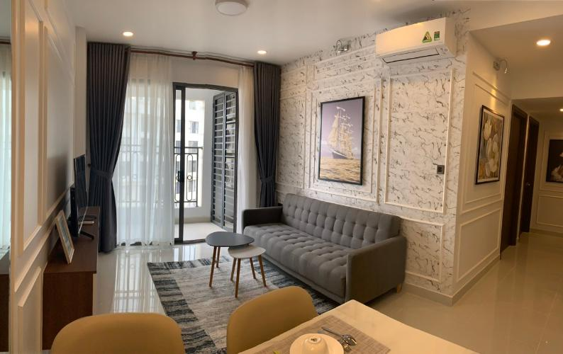Bán căn hộ Saigon Royal 2 phòng ngủ, tầng cao, diện tích 80m2, đầy đủ nội thất
