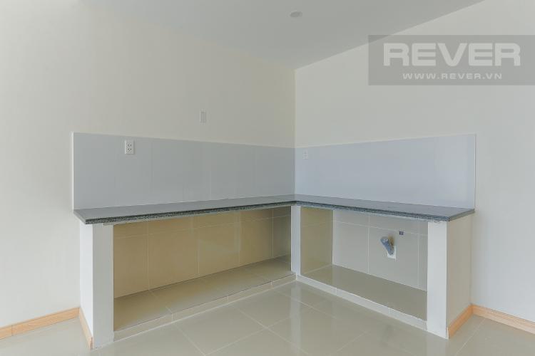 Phòng Bếp Căn hộ Jamona City nằm ở tầng cao, tháp M1, 71m2, 2 phòng ngủ, view sông.