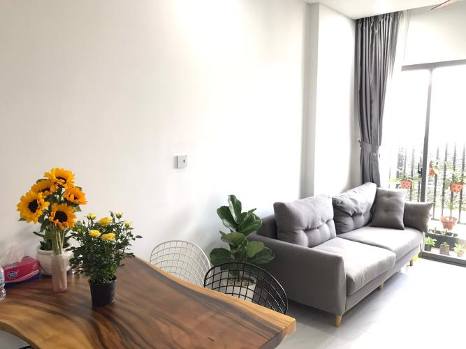 phòng  khách Dvela Bán căn hộ D-Vela diện tích 70m2, nội thất cơ bản, vị trí thuận lợi.